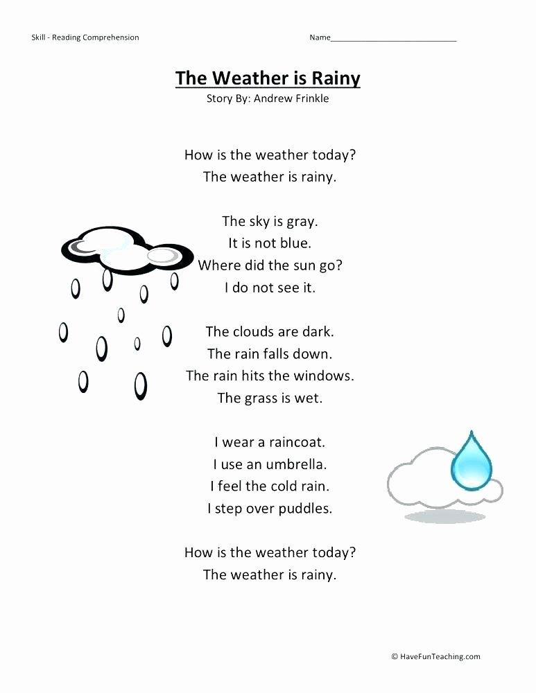 Water Cycle Worksheet Kindergarten Clouds Worksheets 3rd Grade