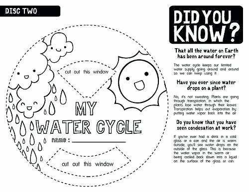 Water Cycle Worksheet Kindergarten Water Cycle Worksheets Kids – Morningknits