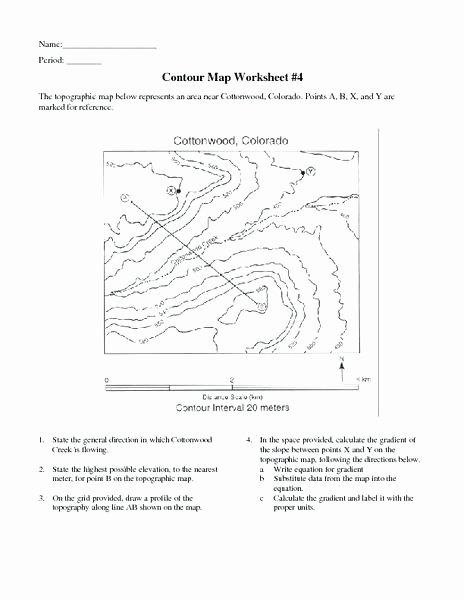 Weather tools Worksheet topographic Map Worksheet Luxury Reading Worksheet Weather