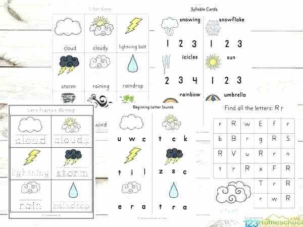 Weather Worksheets for 2nd Grade Whats the Weather Free Printable Matching Worksheet Crafts