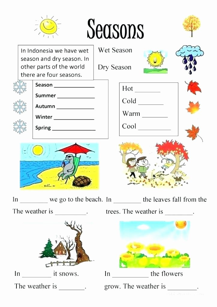Weather Worksheets for First Graders Reading Prehension Worksheets Kindergarten Extreme