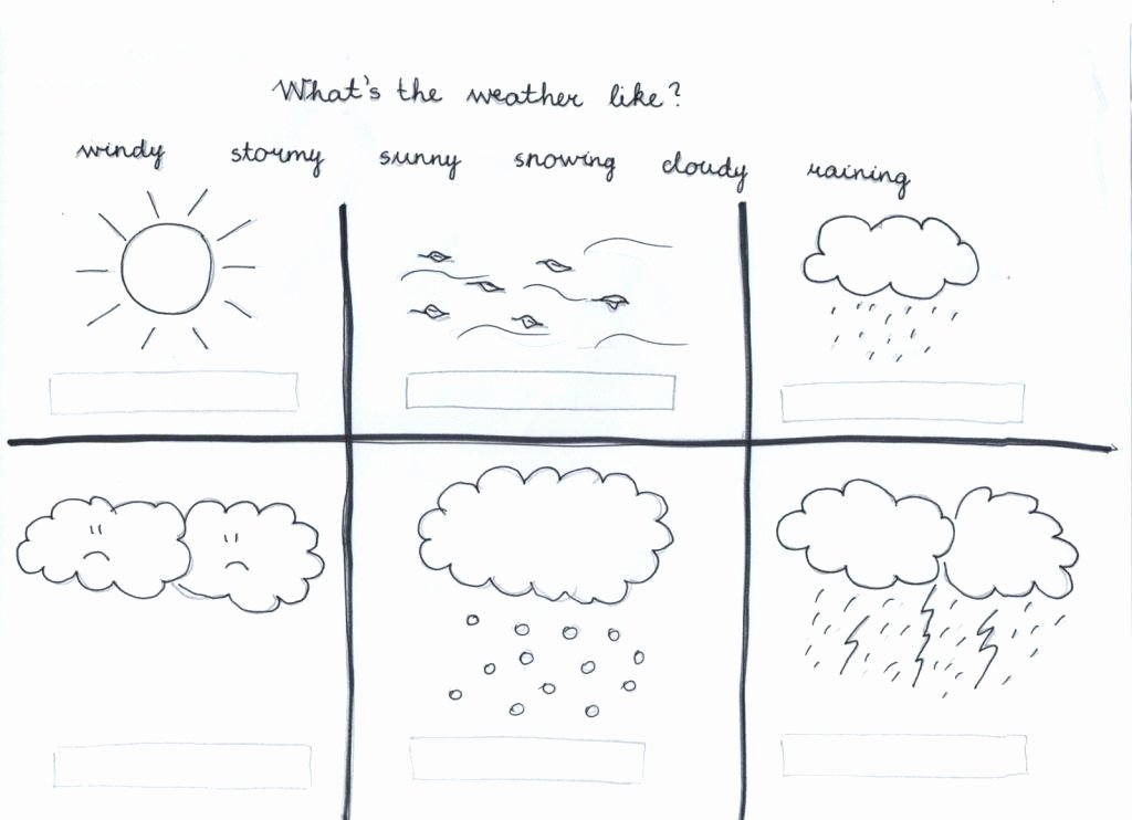 Weather Worksheets for Middle School Esl Weather Worksheets the Free Download them and Try to