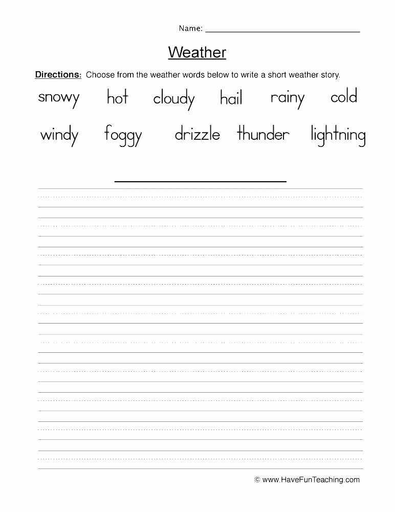 Weather Worksheets for Middle School Weather Worksheets Extreme Weather Worksheets Pdf Weather