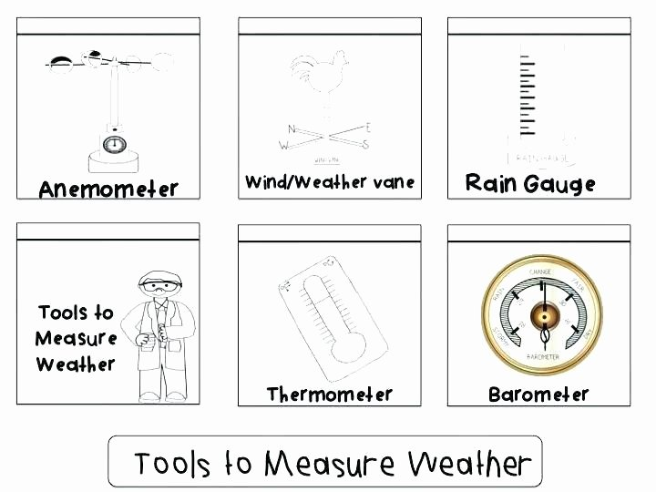 Weather Worksheets for Second Grade 4th Grade Science Weather Worksheets