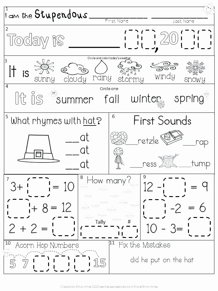 Weather Worksheets for Second Grade Winter Weather Worksheets