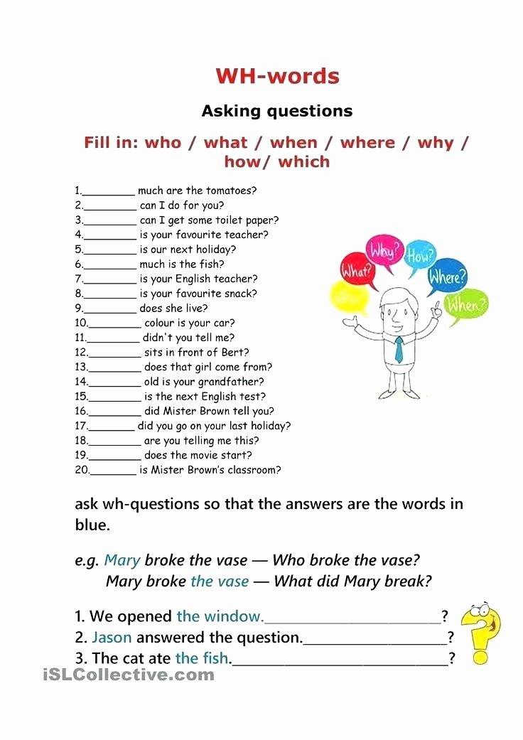 Wh Questions Worksheets Pdf Data Analysis and Probability Word Search Crossword Puzzles