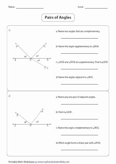 Who Am I Worksheet Answers Awesome Angles In Worksheet Answer Key Along with Best Geometry