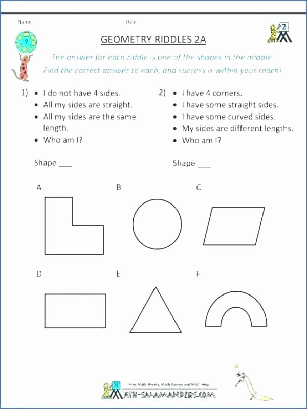 Who Am I Worksheets Unique Math for Fourth Graders Worksheets – butterbeebetty