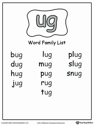 Word Families Worksheets Pdf Word Family Worksheets It Free Printable Ot Ell Picture Find