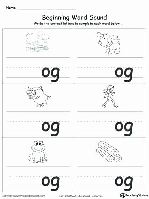 Word Family Worksheet Kindergarten Word Family Worksheets Kindergarten Free