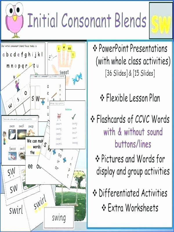 Word Ladders Middle School Cvcc Word Blends Worksheets