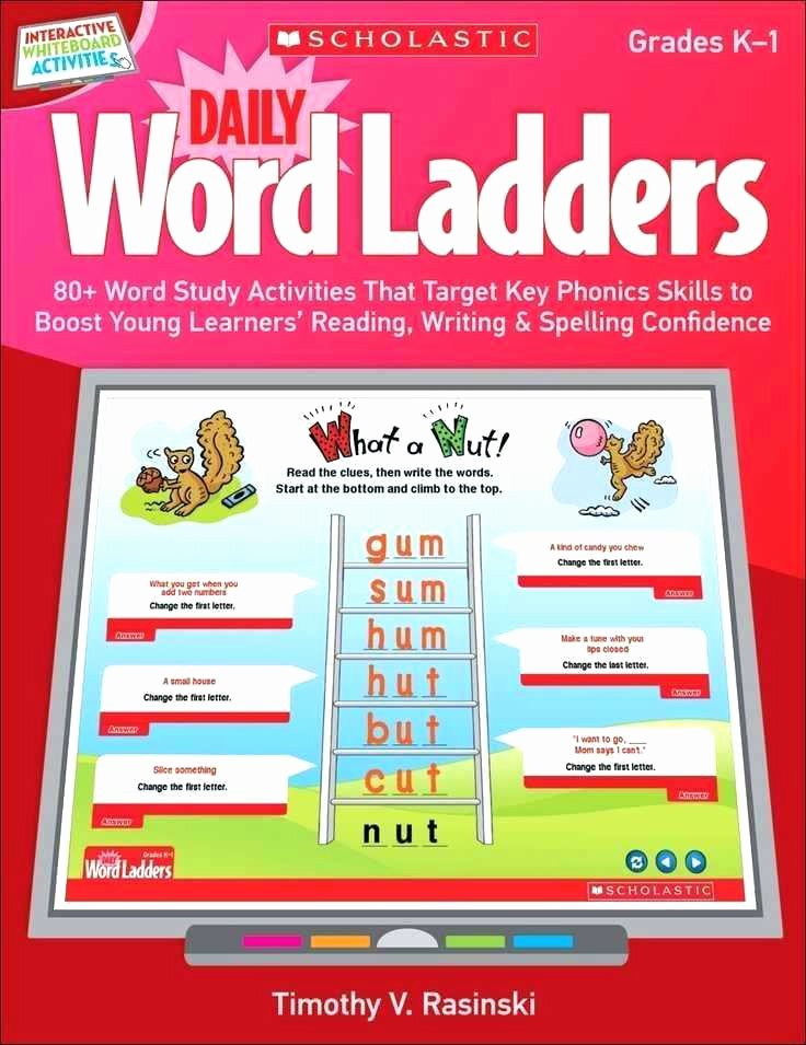 Word Ladders Middle School Vocabulary Ladders Worksheets My Word Family Houses Book