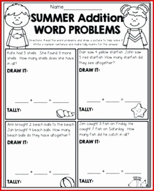Word Problem Worksheets for Kindergarten Kindergarten Math Word Problems Worksheets – butterbeebetty