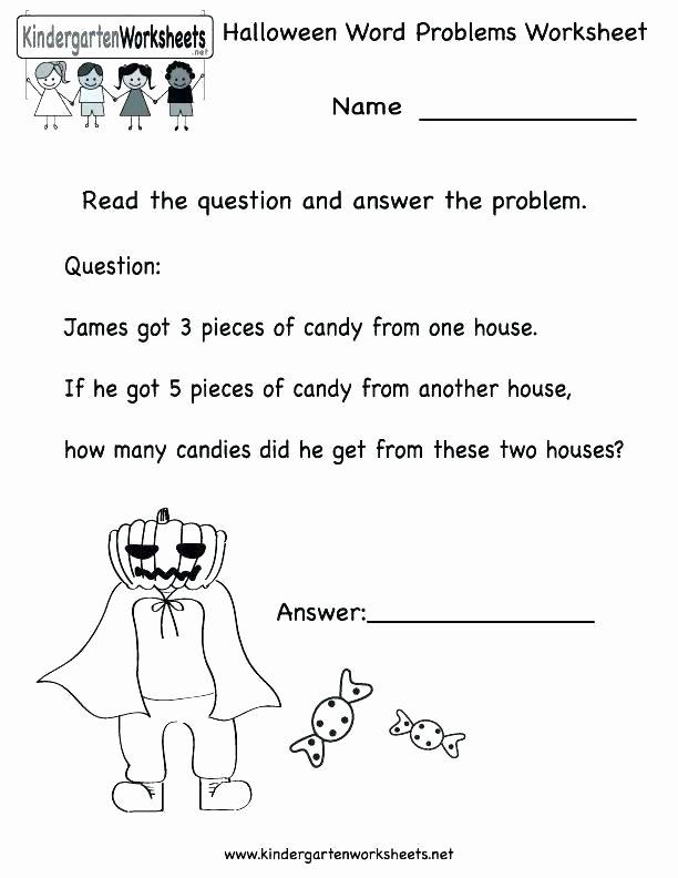 Word Problems Kindergarten Worksheets Kindergarten Word Problems Worksheets Free