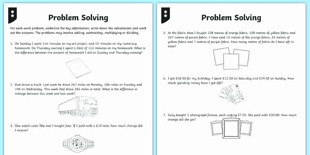Word Problems Kindergarten Worksheets Story Problem Worksheets