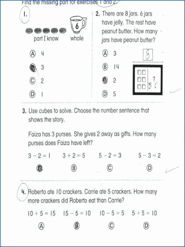 Word Problems Worksheets 1st Grade Grade Mon Core Worksheets Free Math Word Problems for 2nd A