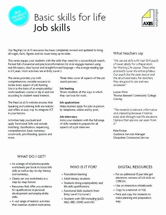 Work Skills Worksheets Procedural Text Worksheets