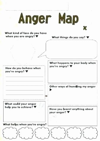 anger map a fun tool to know kids triggers and what helps them calm down ting students worksheets for grade 1