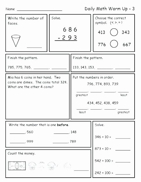 grade math worksheets for 3rd word problems spiral review worksheetworks calculating volume