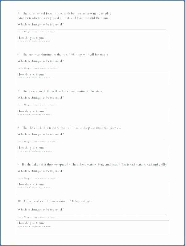 Worksheet Works Calendar New Metaphors for Kids Worksheets – Trungcollection