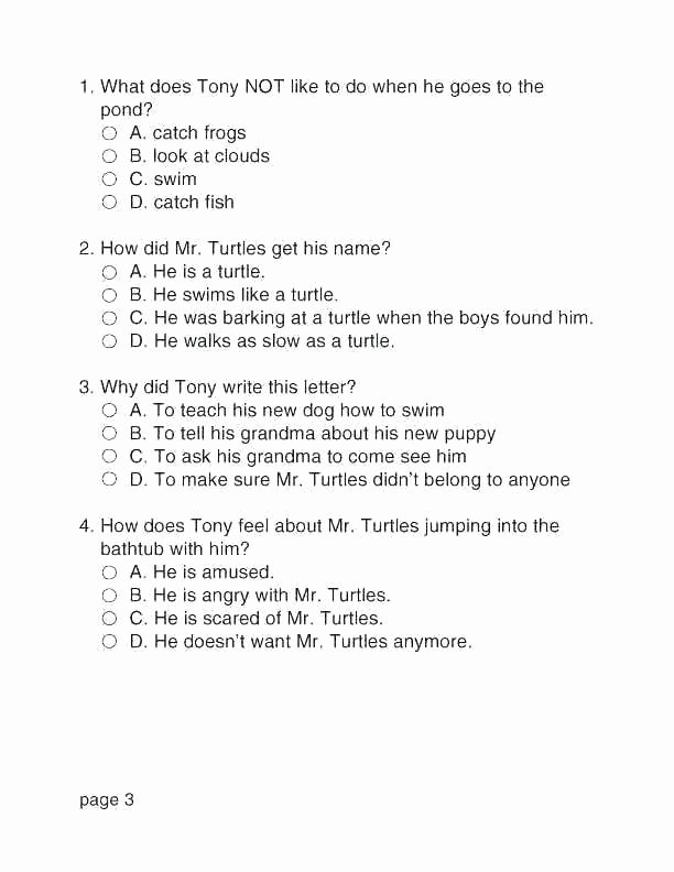 Worksheets for First Grade Writing Ecosystems Grade Reading Prehension Worksheet 4th Grade