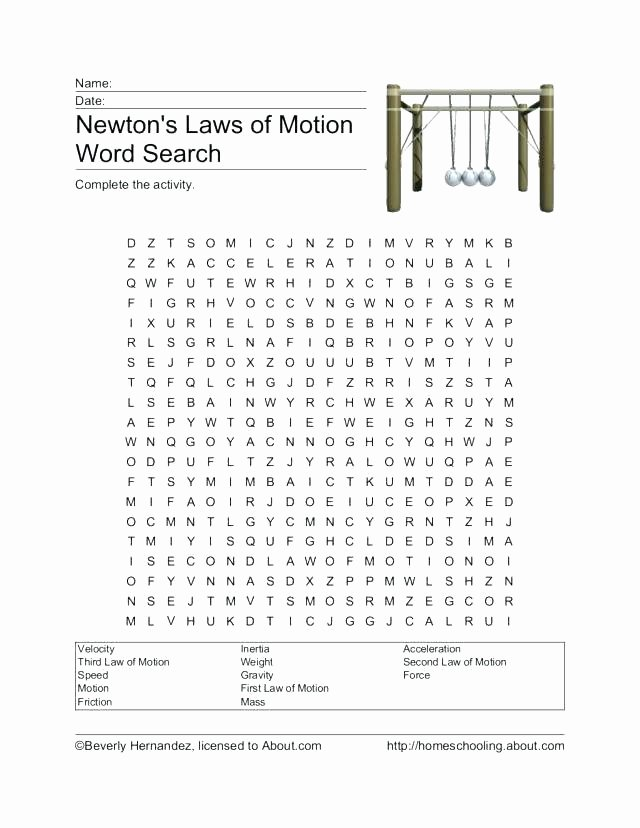 Worksheets On force and Motion forces Motion Worksheet Worksheets Space theme and Physical
