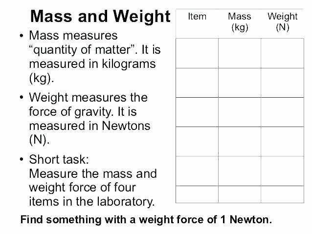 Worksheets On force and Motion Science Energy Worksheets