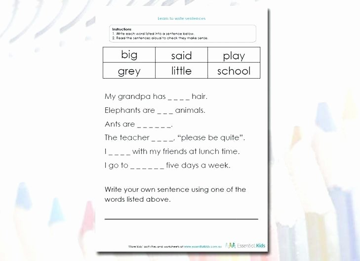 learn to write sentences worksheet education learning to write learn to write sentences worksheet learning to write kids learning sentences worksheets learning to write sentences worksheets kindergart