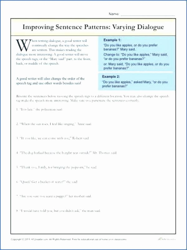 Writing Sentences Worksheets 3rd Grade Grammar Activities Worksheets Sentence Structure Best Free