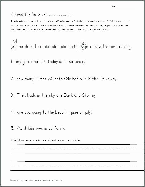 Writing Worksheets 7th Grade Free Printable Grade 1 Reading Worksheets Related