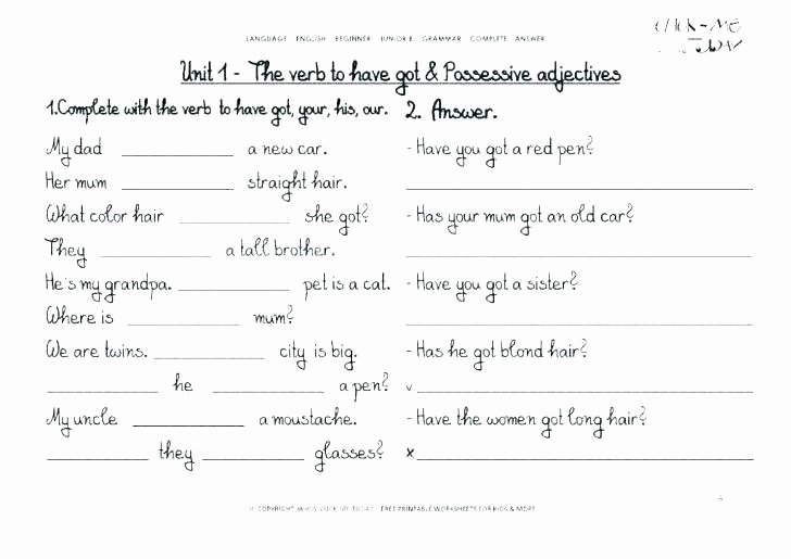 Writing Worksheets 7th Grade Grade Grammar Worksheets Beautiful Best Grammar Worksheets