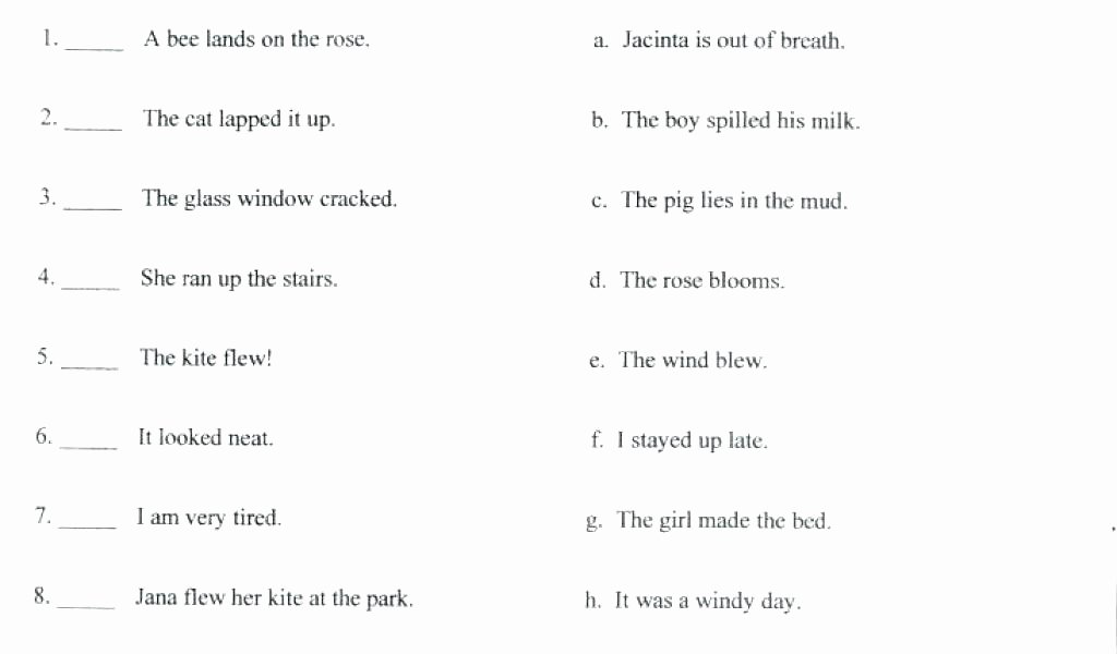 Writing Worksheets for 7th Grade Second Grade Writing Worksheets Grade Writing Worksheets
