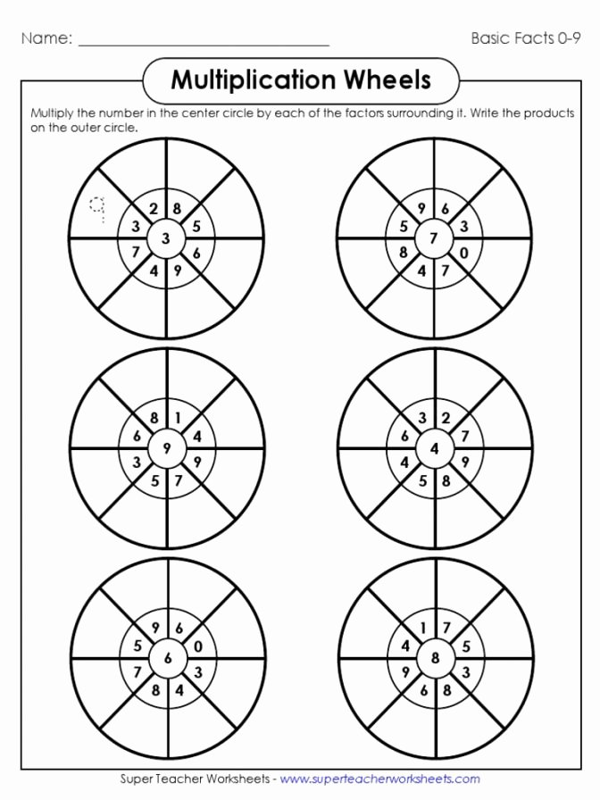 Www Superteacherworksheets Com Login Circle Multiplication Twzft Pdf