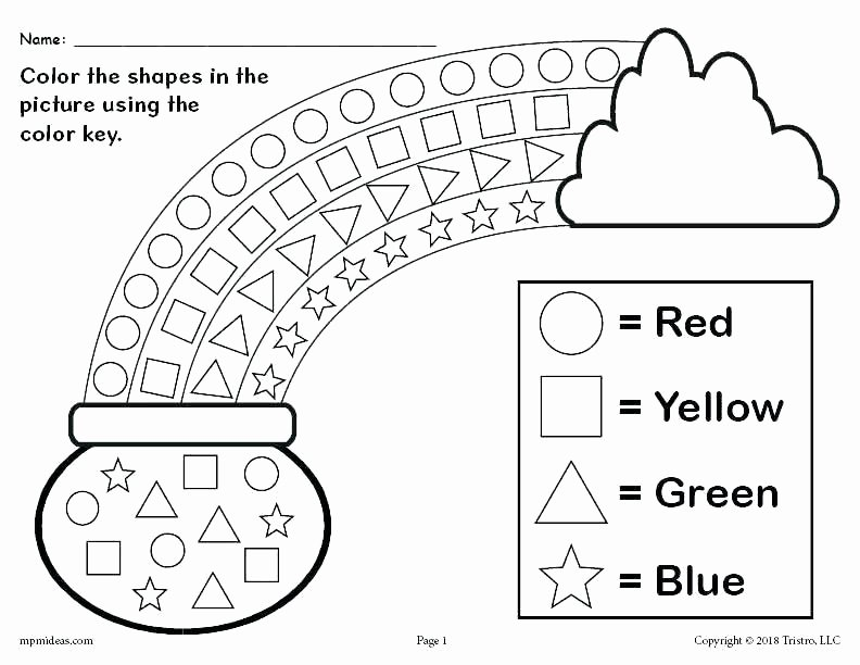 Yellow Worksheets for Preschool Preschool English Worksheets